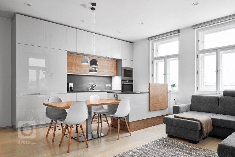 Luxusní interiér v nadčasové kombinaci