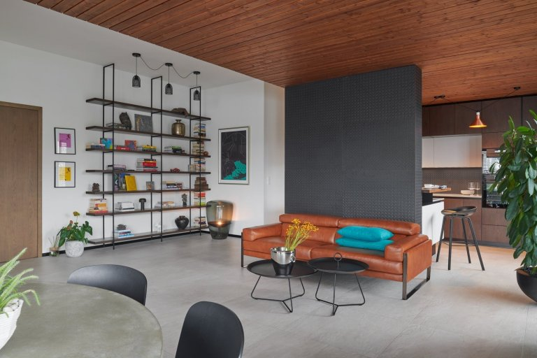 Minimalistický byt s designovými prvky