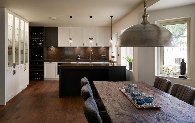 Elegantní klasická kuchyně