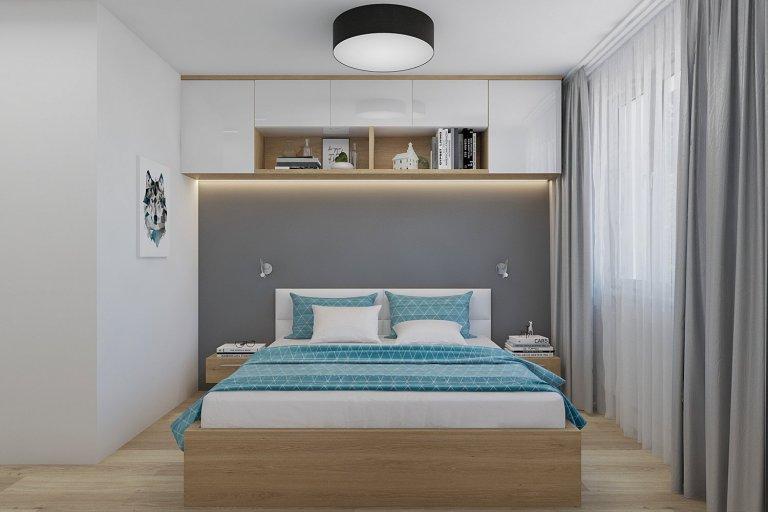 Ložnice s nádechem luxusu