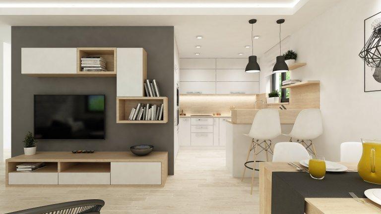Moderní bydlení ve skandinávském stylu