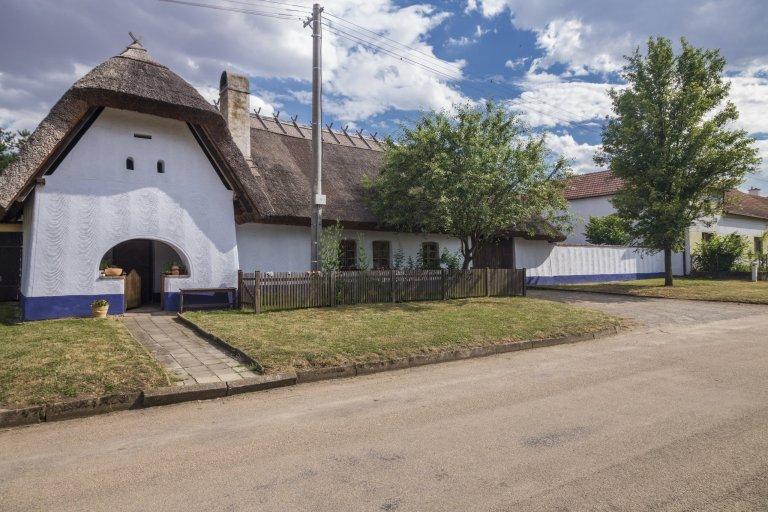 Lysovice RD žudrový dům