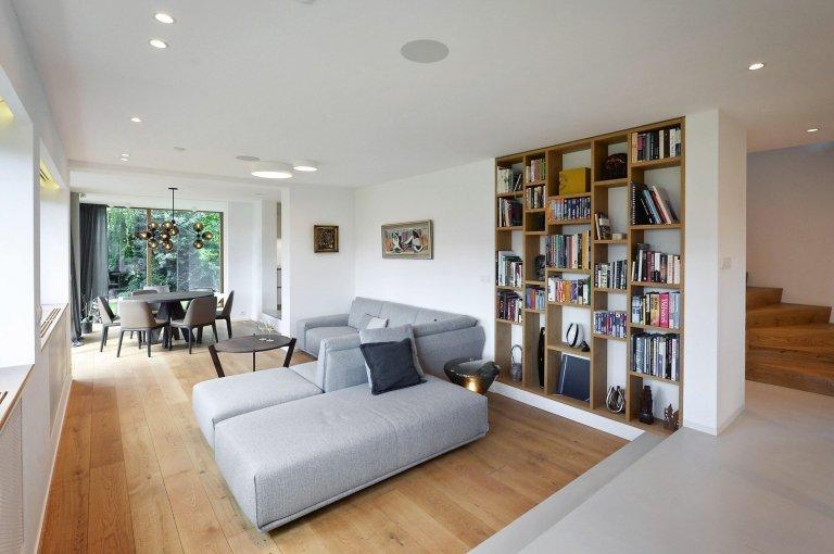 Interiér a přestavba funkcionalistické vily