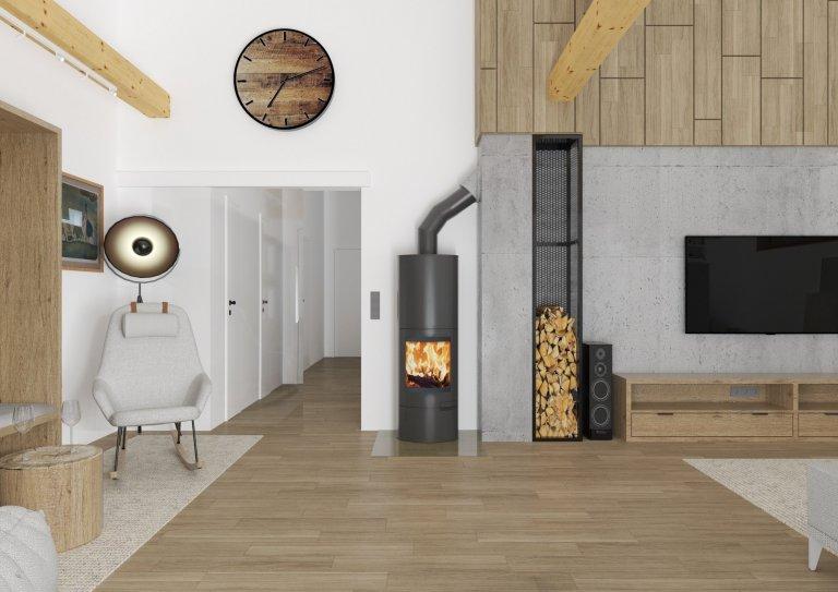 Přestavba luxusního obýváku