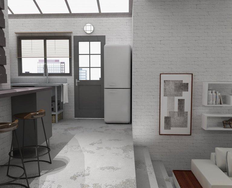 Světlost, přiznané architektonické prvky a originální dispozice - to jsou vlastnosti, které charakterizují návrh loftu v nejvyšším patře rekonstruované…