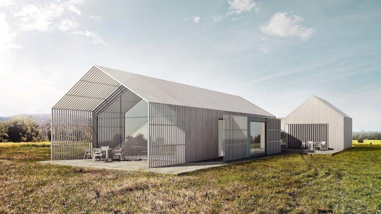 Rodinný dům Drnholec- návrh