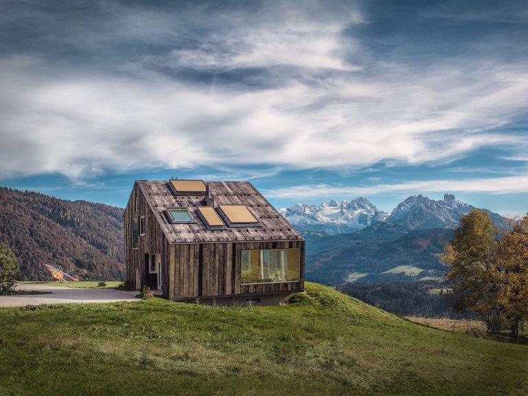 Atypický dům v horách