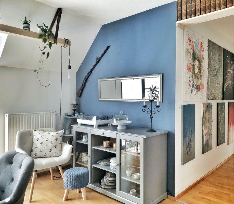 Blogerka Lucie a její kreativní bydlení v podkroví plném nápadů