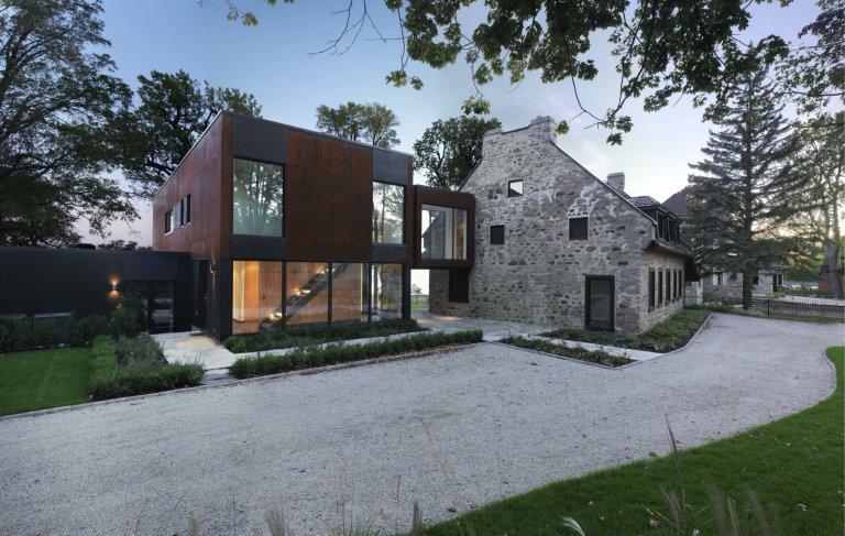 Bord-du-Lac House se stal útočištěm pro tři generace