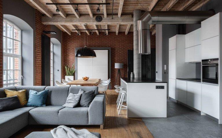 Bydlení v revitalizované továrně