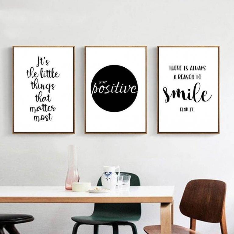 Citáty v interiéru osvěží vaše bydlení