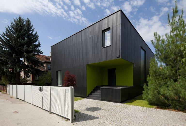 Dům jako černá krychle