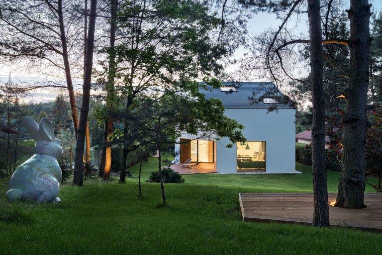 Dům, který má rád zelenou