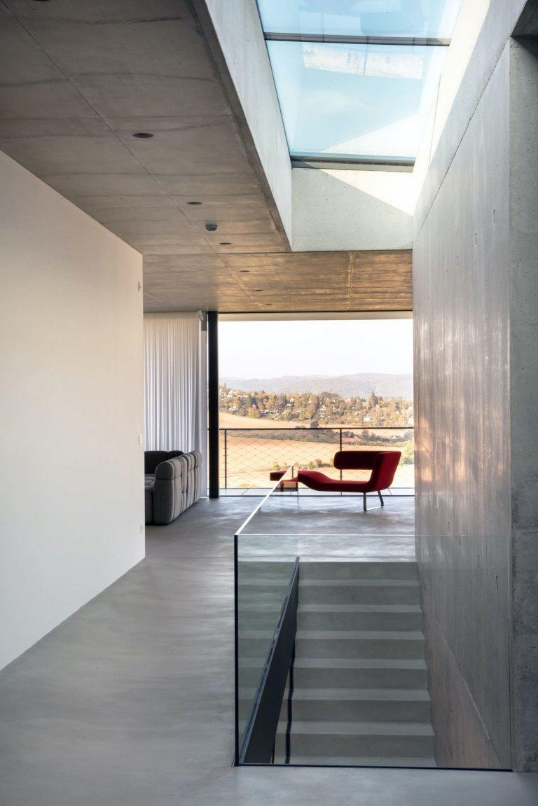 Dům naplněný dynamickou proměnou přírody