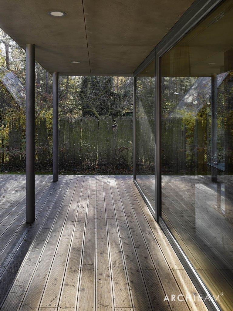 Dům pod korunami borovic