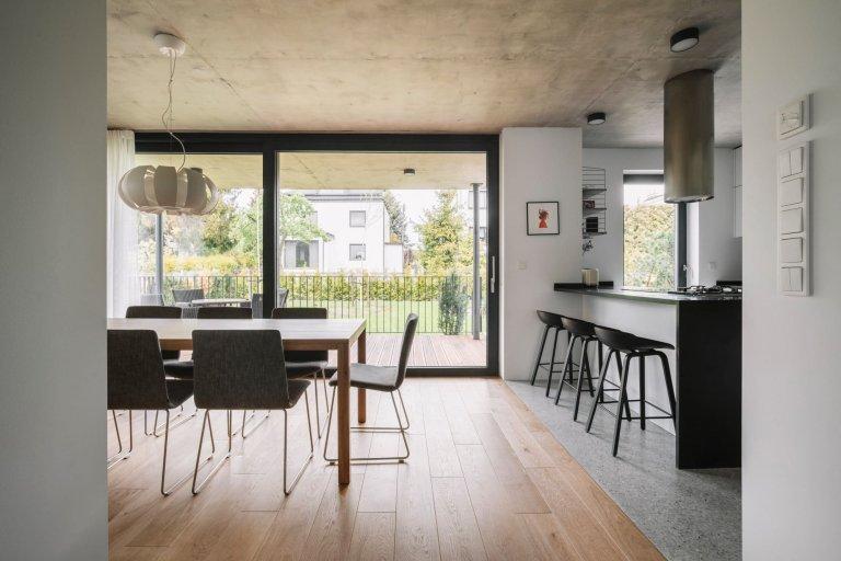 Dům ve stylu modernismu 20. let minulého století