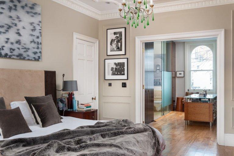 Eklektický interiér v Londýně