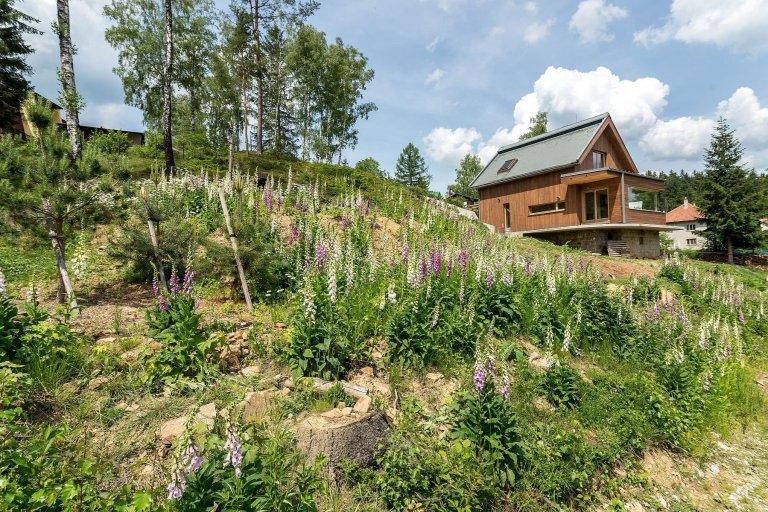 Ekologický dům v samém srdci Beskyd
