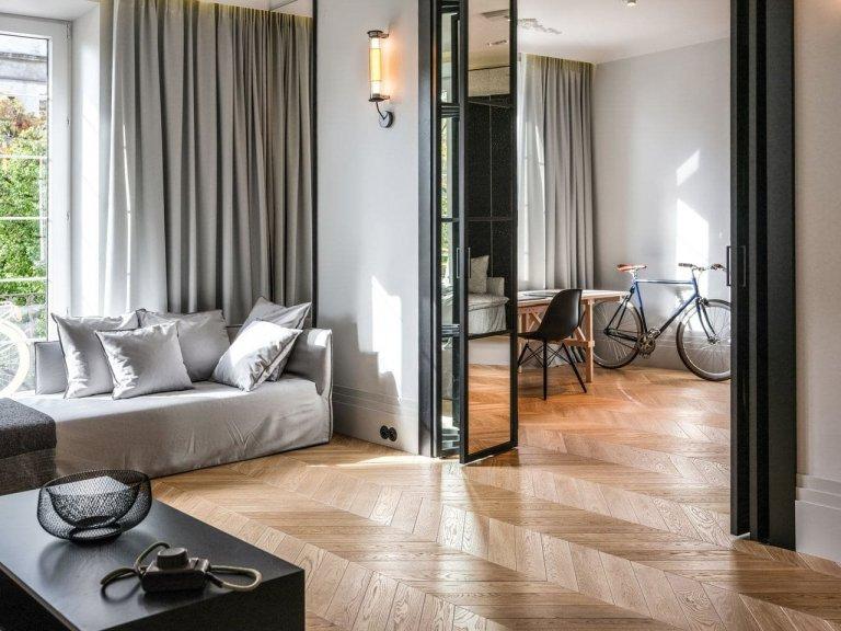 Elegantní byt v pařížském stylu