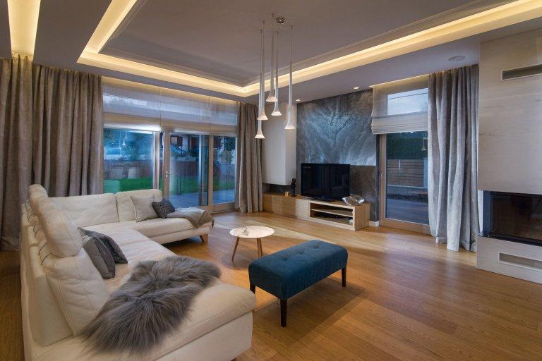 Elegantní interiér domu v Rotmance