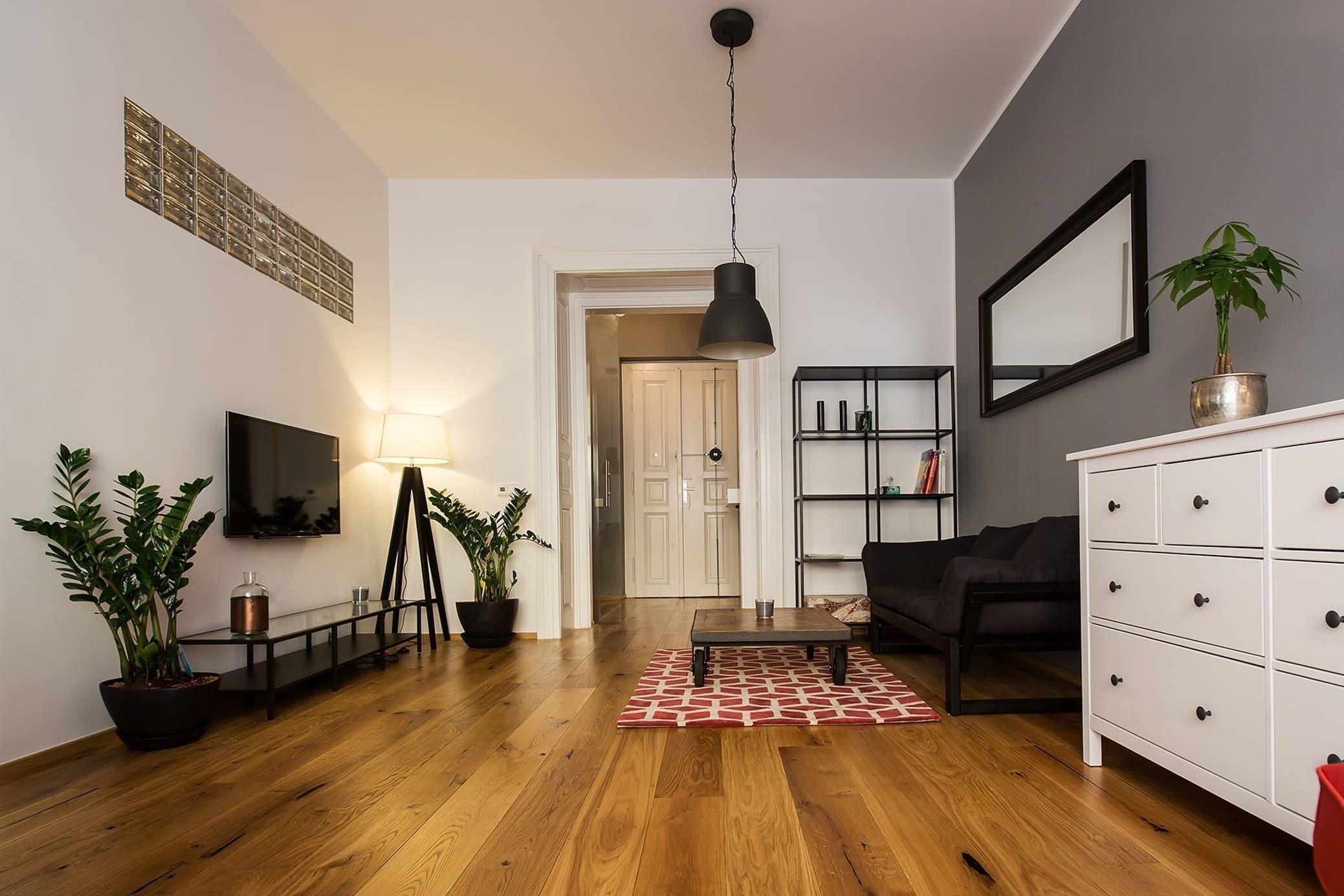 Industriální styl spolu s původními prvky interiéru