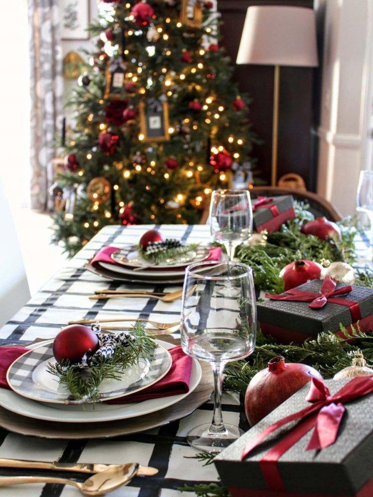 Inspirace pro kouzelné vánoční stolování