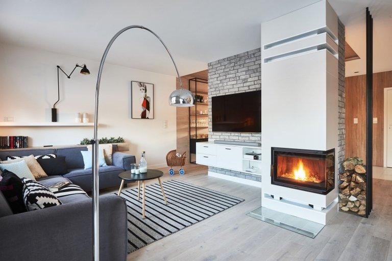 Interiér v rustikálním skandinávském stylu