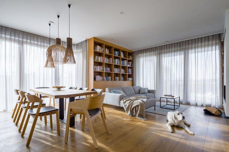 Interiér založený na přírodních materiálech