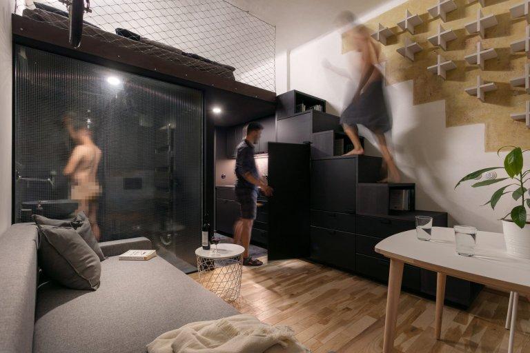 Komfortní bydlení dramatického rázu na 20 m2