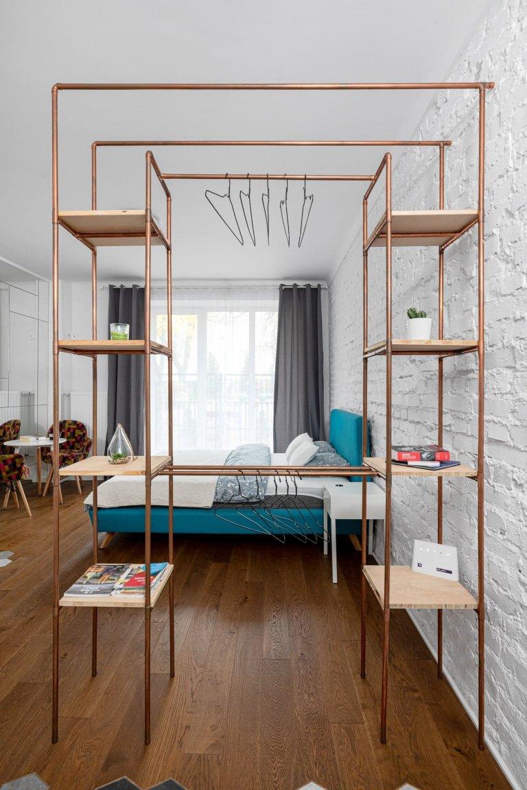 Kouzelný byt malých rozměrů ve starém činžovním domě