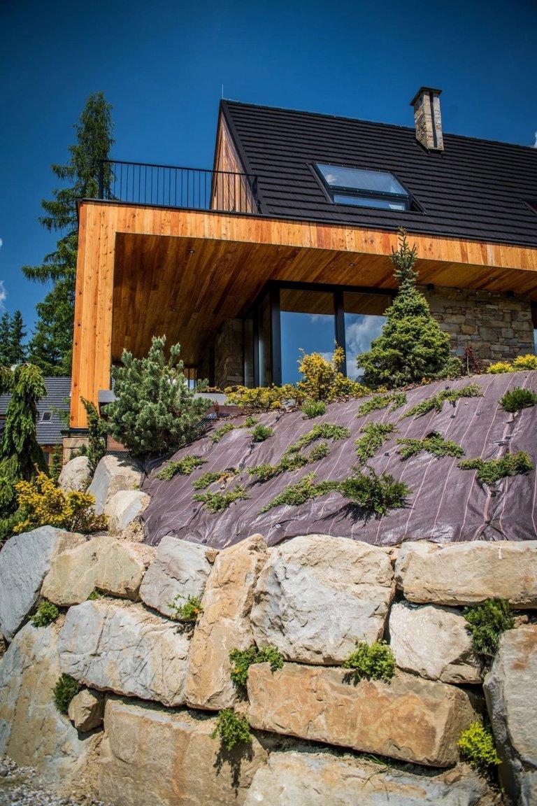 Krásný dům kombinující tradici s modernou