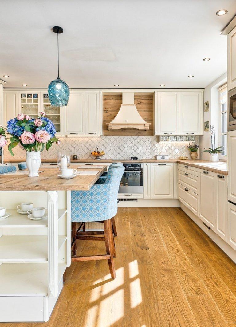 Kuchyně v moderním provensálském stylu
