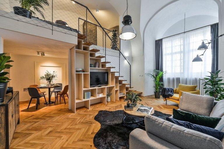 Luxusní bydlení u Karlova mostu