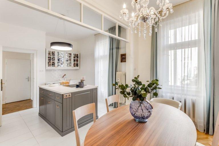 Luxusní byt v historické části Karlína
