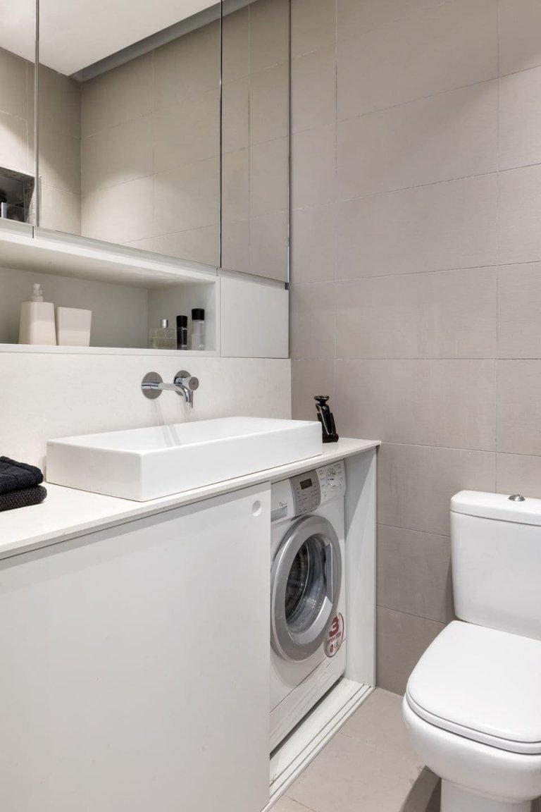 Malé bydlení pro dva muže a psa na 44 m2