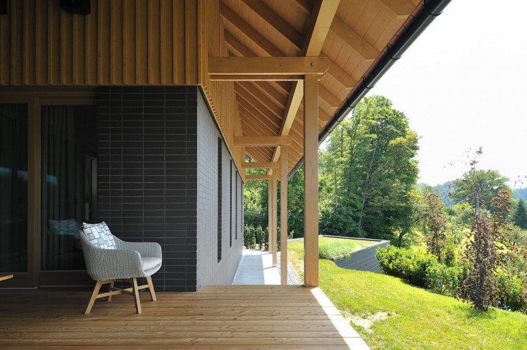 Moderní dům ve Slovinsku