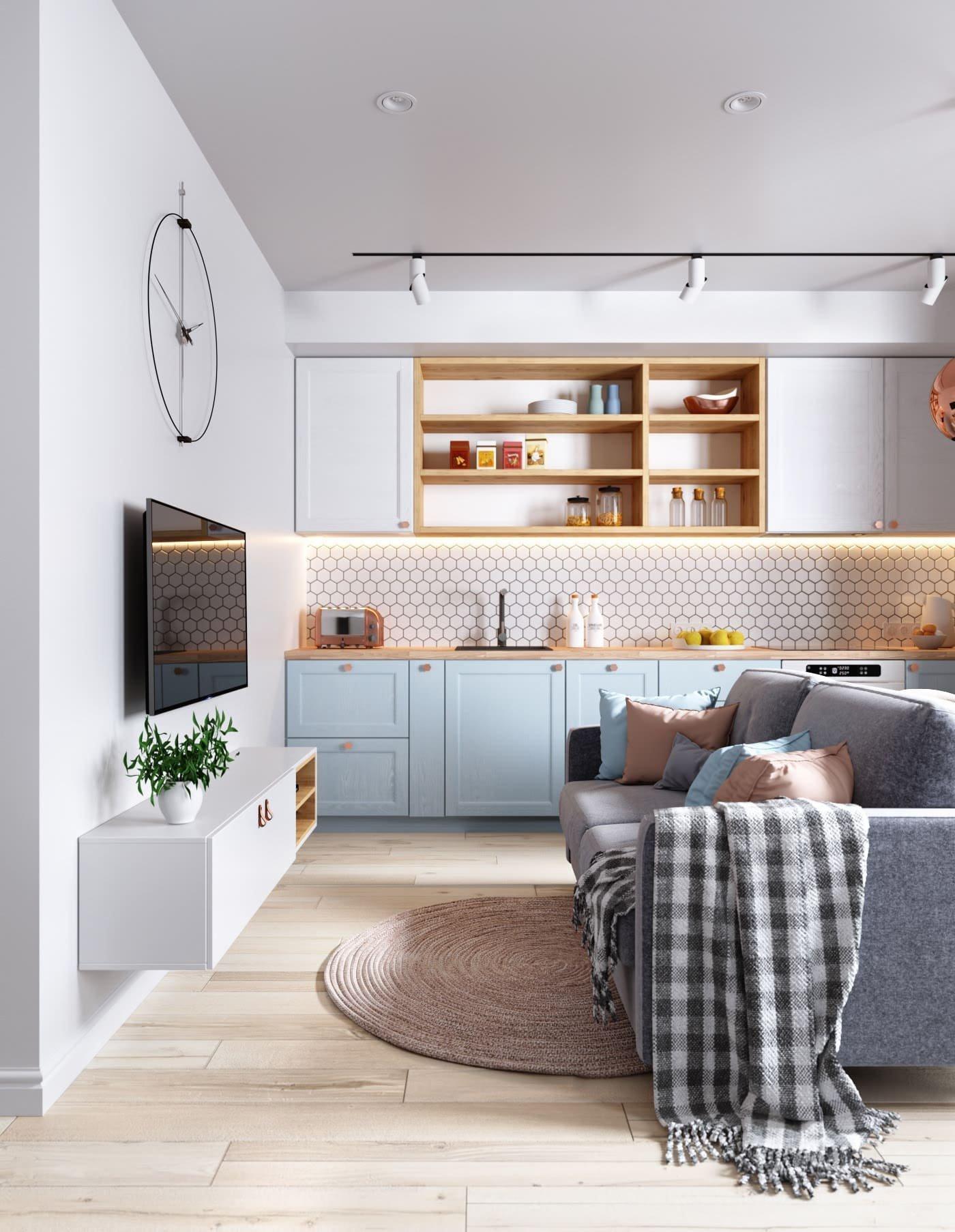 Kouzlo pastelových barev tkví především v tom, že do interiéru vnáší světlo a hravost, ale že je lze dokonale kombinovat i s výraznějšími dekoracemi.
