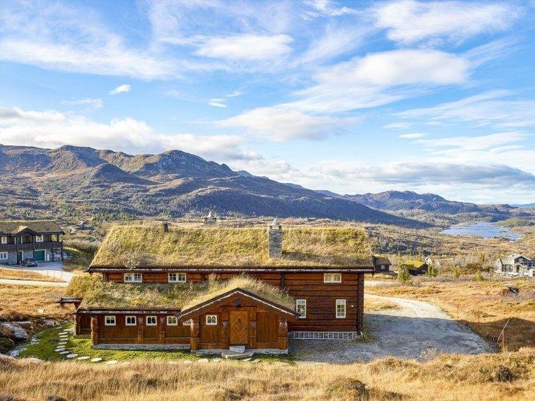 Norský srub s důrazem na řezbářskou práci