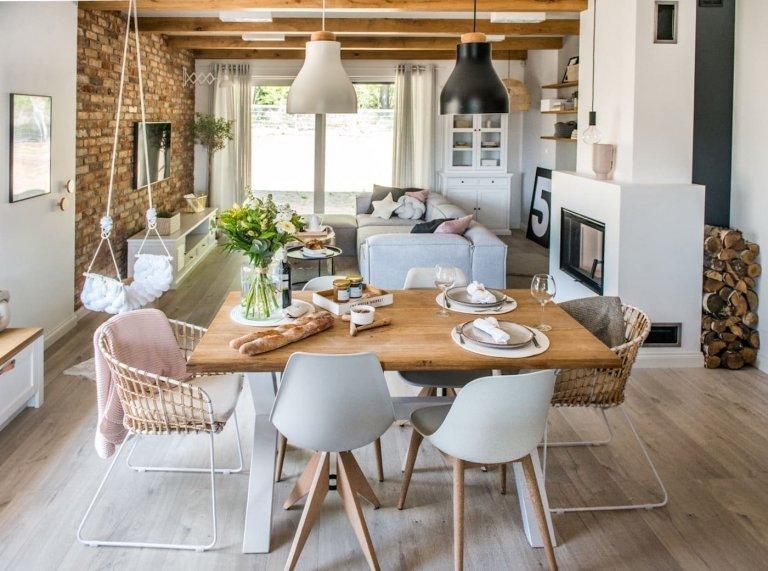 Nový domov v eklektickém stylu s nádechem Skandinávie
