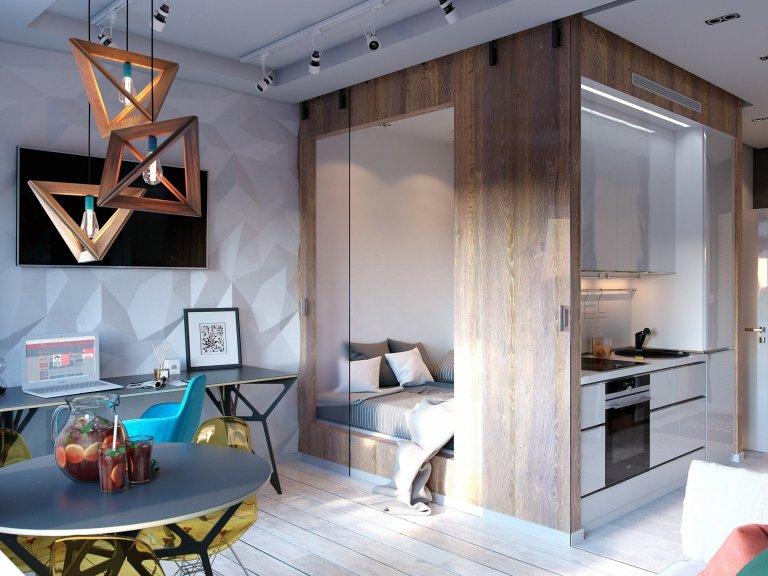 Originální a vzdušné bydlení na pouhých 30 m2
