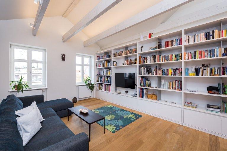 Podkrovní byt s terasou