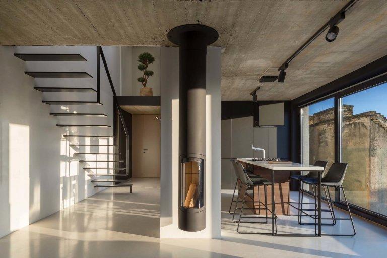 Podkrovní byt v Bratislavě
