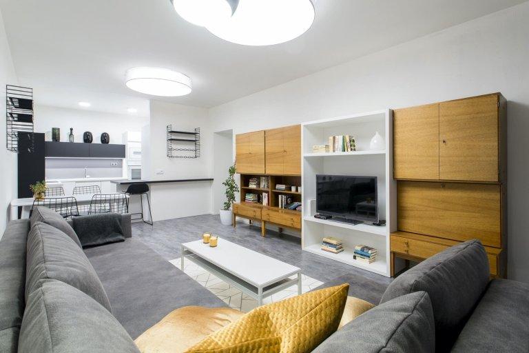 Proměna retro bytu v moderní bydlení