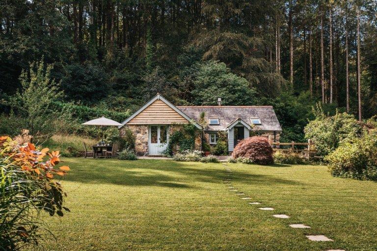 Půvabná víkendová chata v Anglii
