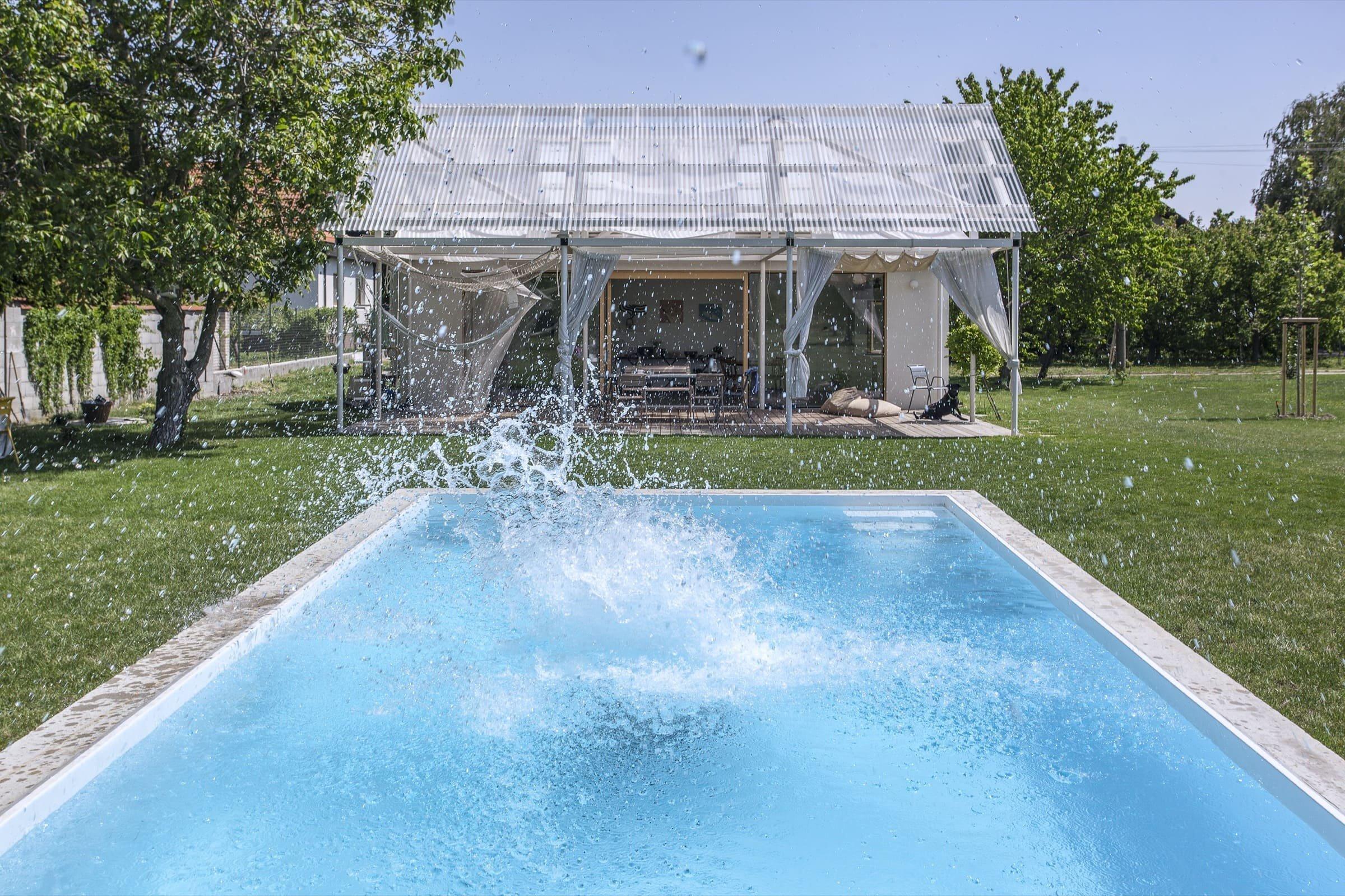 Půvabný letní dům propojený se zahradou