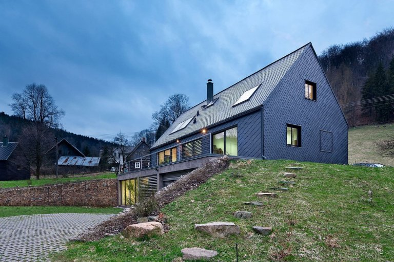 Půvabný rodinný dům v Kryštofově údolí