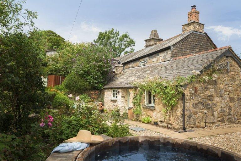Romantický úkryt v Cornwallu
