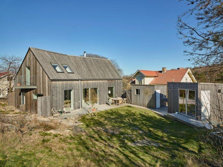 Severská borovice v hlavní roli moderní dřevostavby