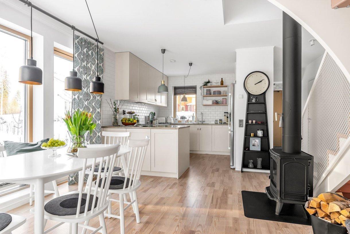 Skandinávské bydlení s nádechem jara