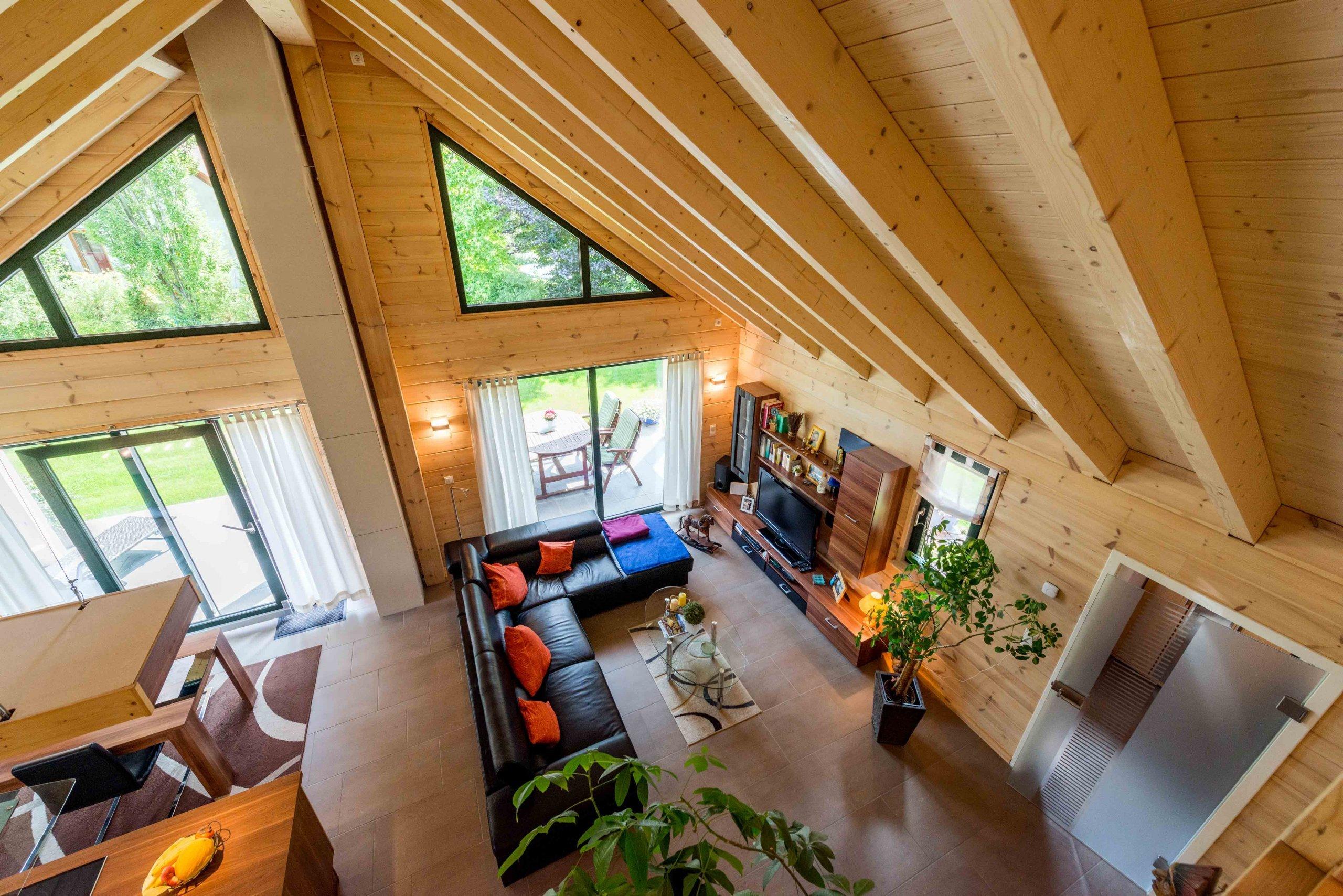 Splněný sen o dřevostavbě
